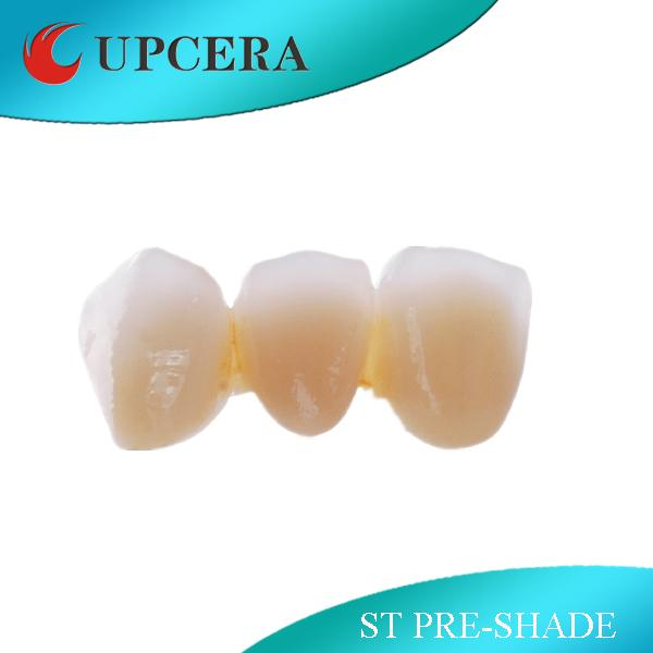 16 Pre - Shaded Dental Zirconia Blank Super Translucent All Systems Compatible